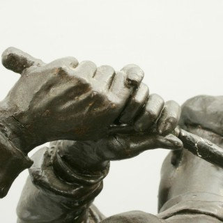 Golf Sculpture, Harry Vardon