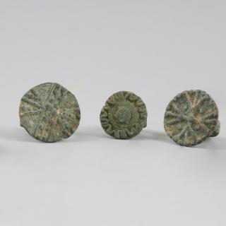 Bactrian 1st Millenium B.C. Bronze Rings