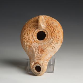 Roman Holy Land Terracotta Oil Lamp