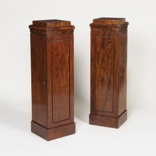 A Pair of Georgian Pedestal Cupboards