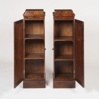 A Pair of Georgian Pedestal Cupboards