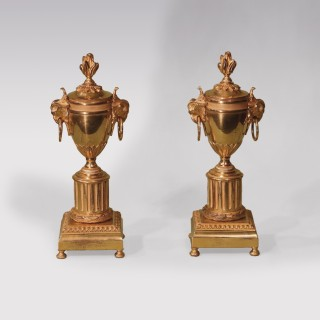 19th Century Ormolu Cassoulettes