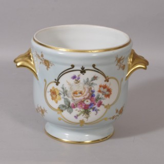 Antique Early 20th Century Limoges Porcelain Jardiniere
