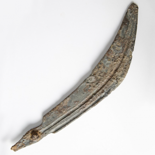 Celtic Iron Curved Knife Blade