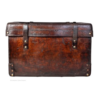 Leather Boot Trunk For Storage