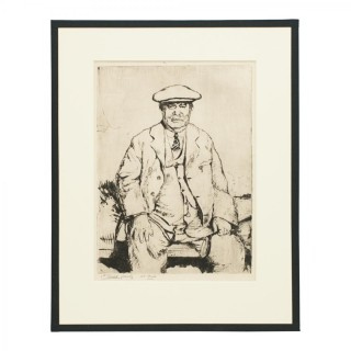 Andrew Kirkaldy Etching