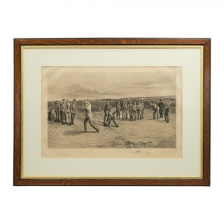 Golf Engraving, Murray, Stevenson