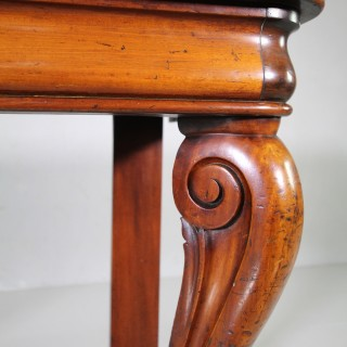 Early 19th Century Antique Mahogany Console Table