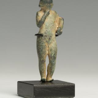 Phoenician Bronze Statueet of Harpocrates