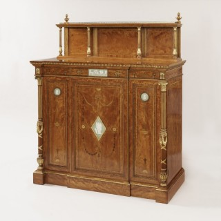 A Fine Side Cabinet Firmly Attributed to Wright & Mansfield