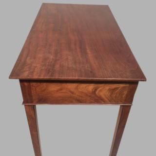 Georgian mahogany side table.