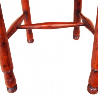 Antique 18th Century Yew Childs High Chair