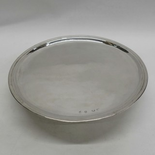 Large George I Footed Salver