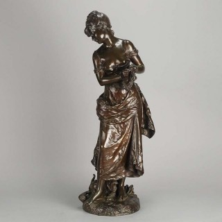 Art Nouveau Bronze figure entitled