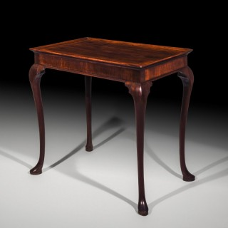 Early 18th Century Red Walnut Tray Table