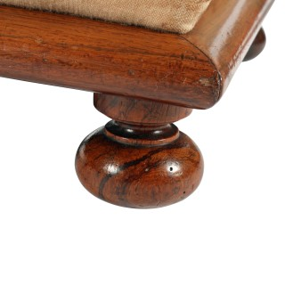 Pair of Rosewood Foot stools
