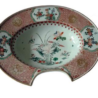 Kangxi famille Verte Barbers bowl