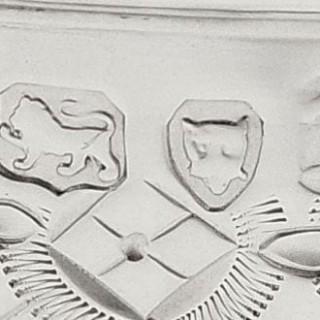 Antique Victorian Sterling Silver Christening Mug / Tankard 1872