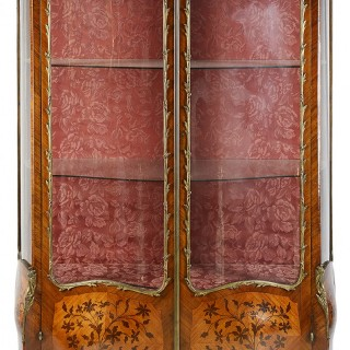 19th Century French vitrine.