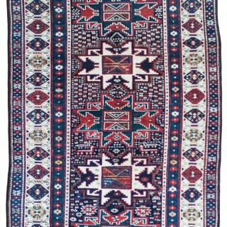 Antique Kuba rug, Caucasus