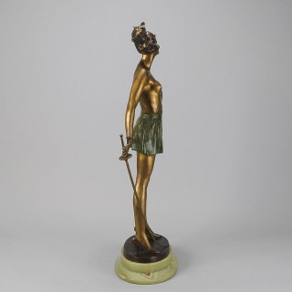 Cold Painted Bronze Figure entitled