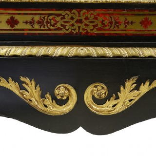 Pair 19th Century Boulle Pier cabinets.