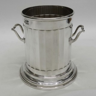 Art Deco Silver Bottle Holder