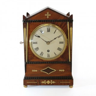 Small Regency Bracket clock Timepiece