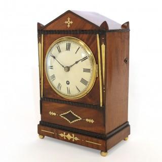 Small Regency Bracket clock Timepiece