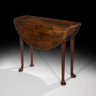 George II Red Walnut Table