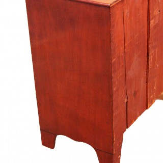Antique 19th Century Childs Size Mahogany Chest Of Drawers