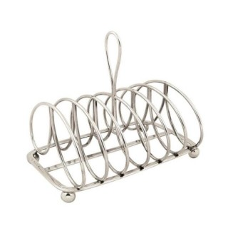 Antique Georgian Sterling Silver Toastrack – 1821