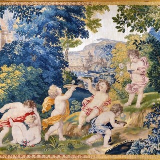 17th Century Antique Tapestry from Royal Manufacture of Mortlake
