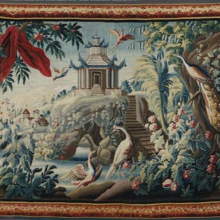 18th Century Tapestry by Jean Pillement -