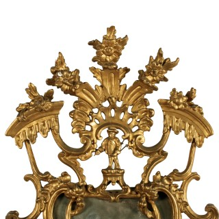 18thc style Giltwood Wall Mirror