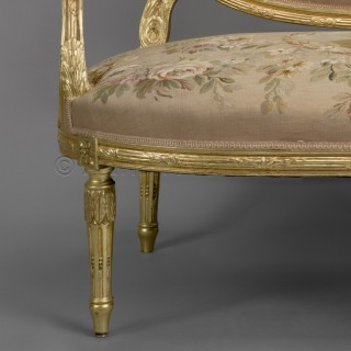 A Louis XVI Style Canapé