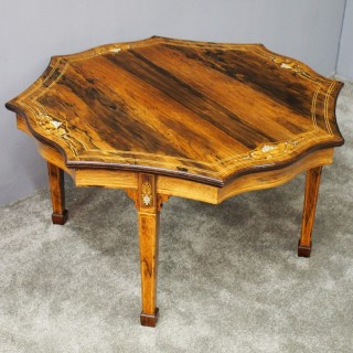 Rosewood Coffee Table by James Schoolbred and Co, London