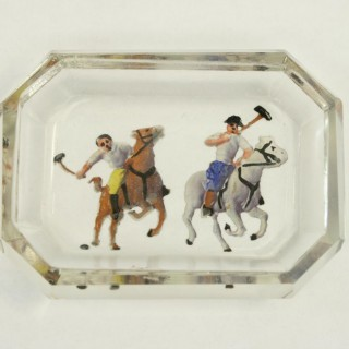 Polo Glass Pin Tray