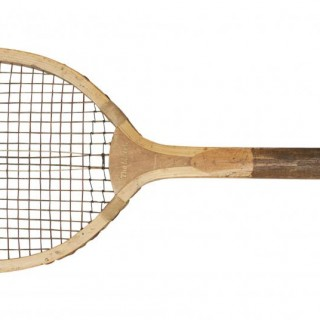 Lawn Tennis Racket, The Match