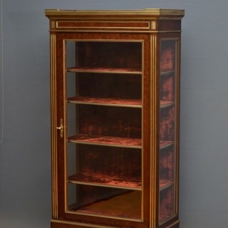 19th Century Continental Vitrine – Display Cabinet