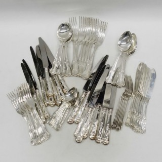 Vintage Silver Cutlery for 8