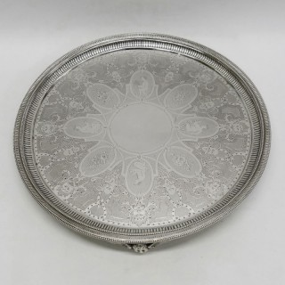 George III Silver Salver