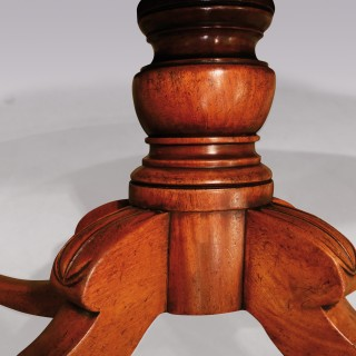 A William IV Mahogany Oval Dining Table