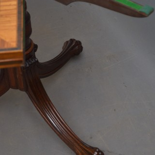 Exquisite Regency Rosewood Card Table