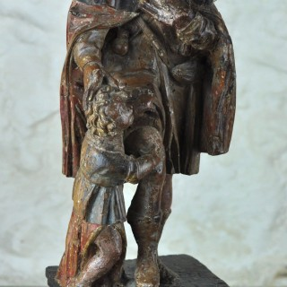 17th century Figure of St Roch