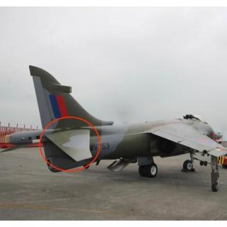 Harrier 'Jump' Jet Tailplane Desk