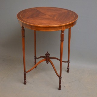 Edwardian Mahogany Centre Table