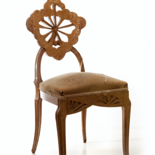 Emile Galle chair Ombelle