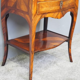 19th Century French Walnut Side Table