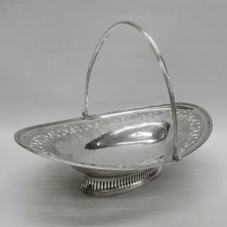 Georgian Silver Basket by Peter and Ann Bateman